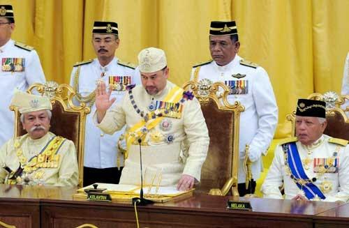 Sultan Kelantan Dilantik Sebagai Yang di-Pertuan Agong ke-15